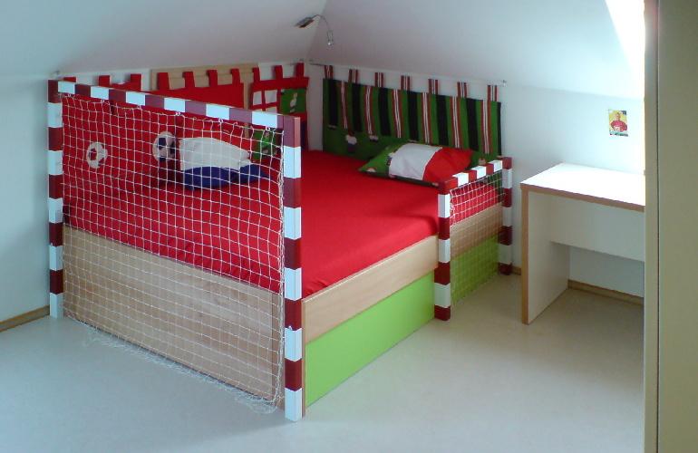 postel pro fotbalistu