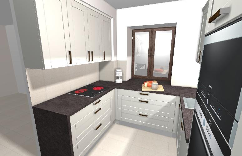 Vizualizace kuchyne
